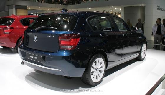 BMW 1-Serie 2013- diesel = 0,57 l/mil