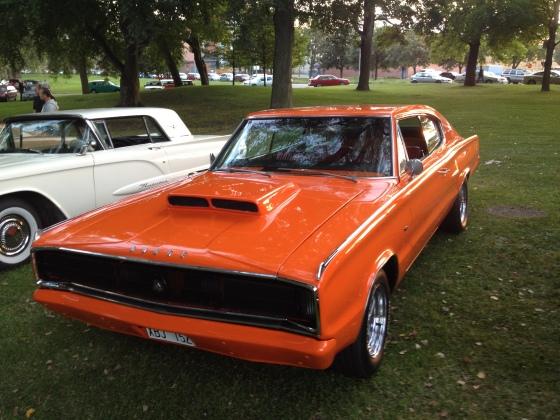Blir inte mycket elakare än en Dodge Charger Fastbak 67!