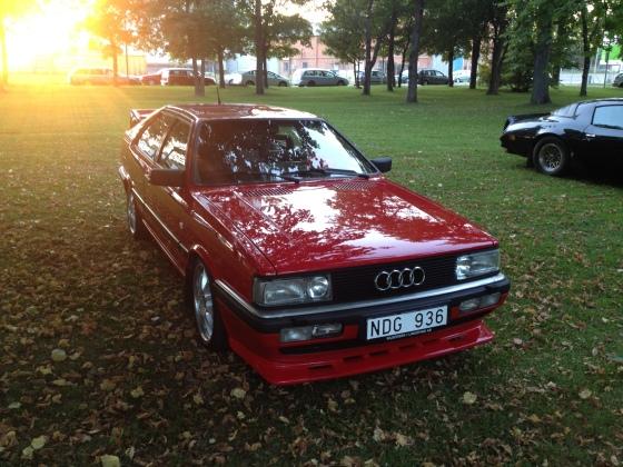 En riktig 80-tals klassiker, Audi Coupé