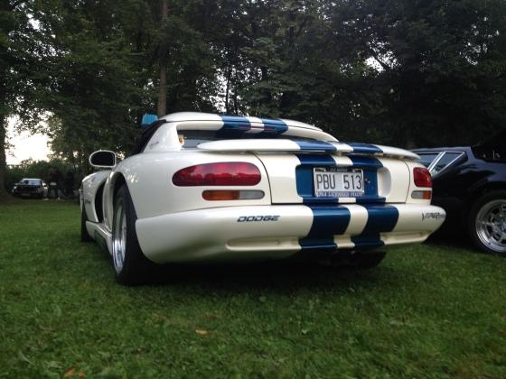 Ikonen Dodge Viper R/T CS. Här i ovanligt Shelby utförande.