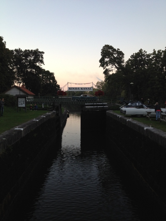 Nykvarn sluss i Kinda Kanal