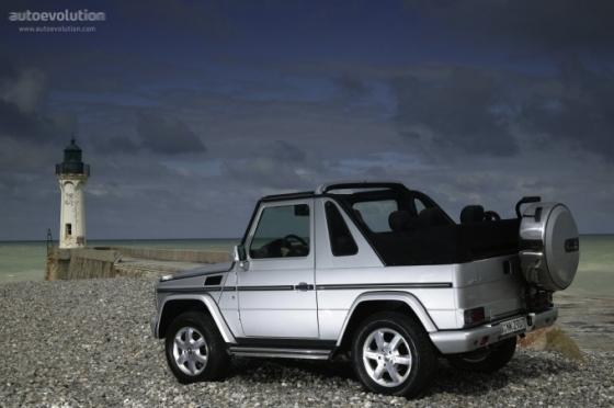 20012008 G Klasse cabriolet exteriör