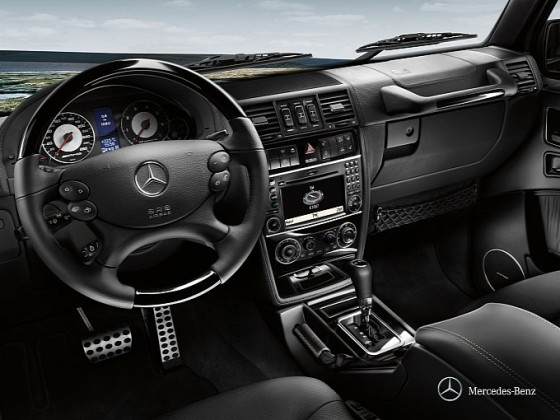 20072012 G klasse cabriolet interiör