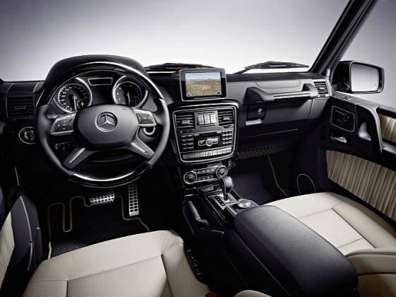 20122014 G-klass cabriolet interiör 1