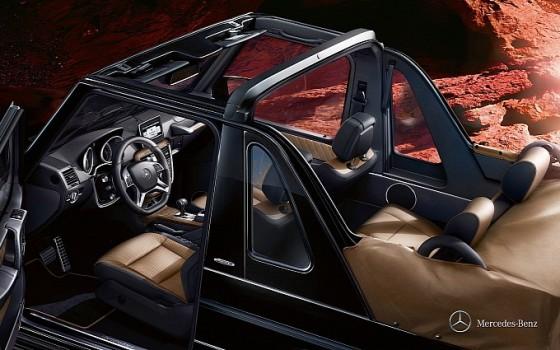 20122014 G-klass cabriolet interiör 2