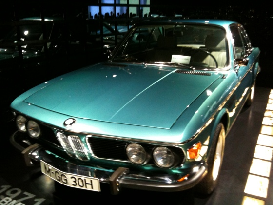 "3,0 CSL, även känd som ""Bavaria Coupe"""