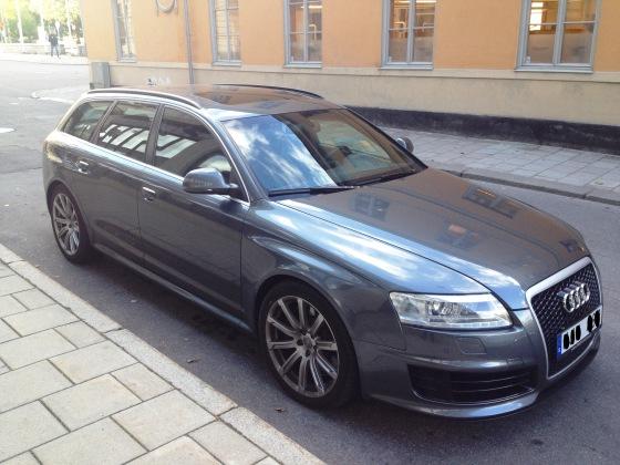 Audi RS6 - 1865 kg, V10, 580hk och AWD - extra allt!