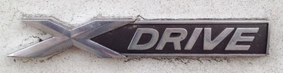 Detta betyder 4WD när BMW skriver.