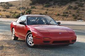 Nissan 200SX - trivs på tvären.