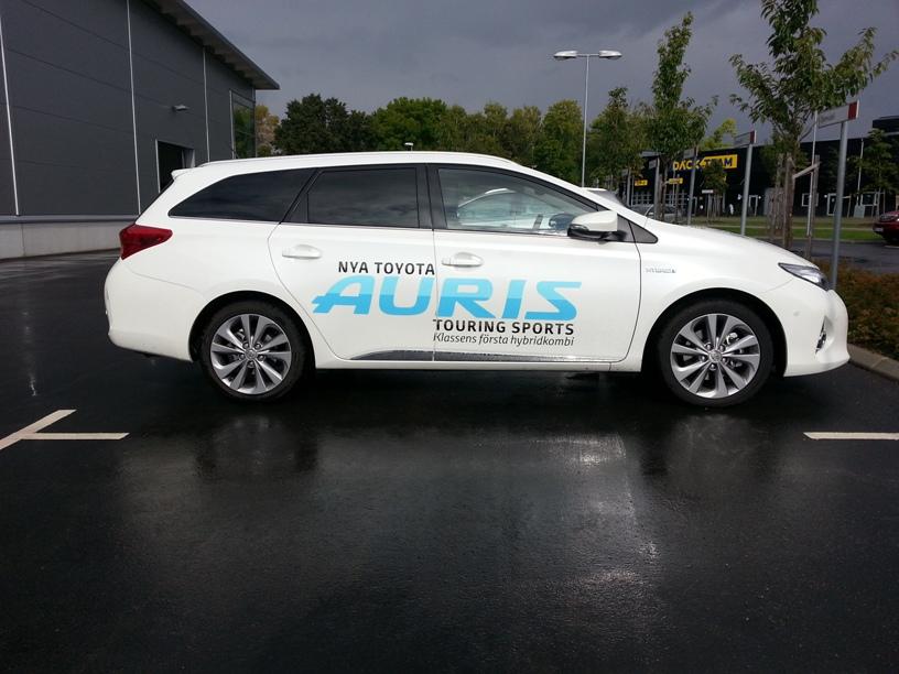 Provkrning Av Toyota Auris Touring Sports Hybrid