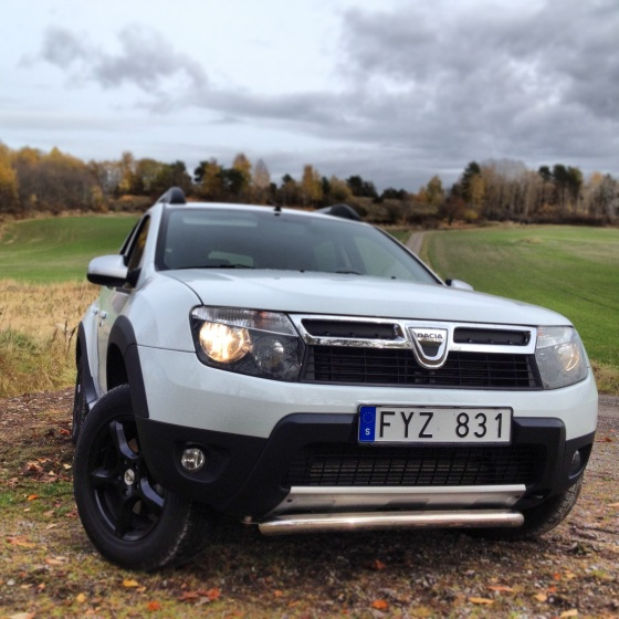 Dacia Duster. På vissa marknader Renault Duster.