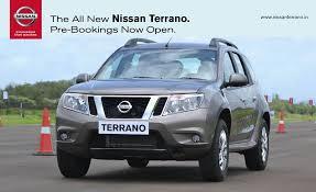 Nissan Terrano, ser ju betydligt trevligare ut än Duster.