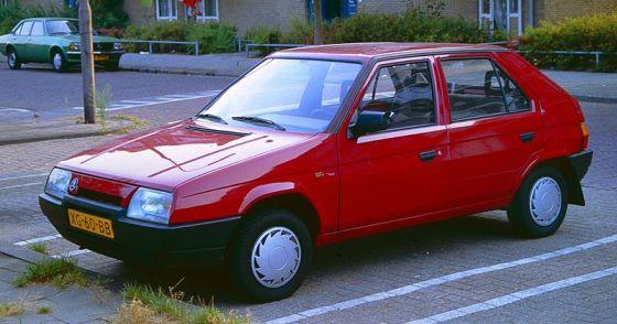 Skoda Favorit, Skodas första bil av modernt slag.