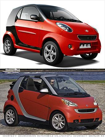 En till Smart bil.