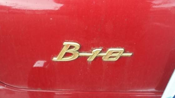 B18, rödblock när de är som bäst!